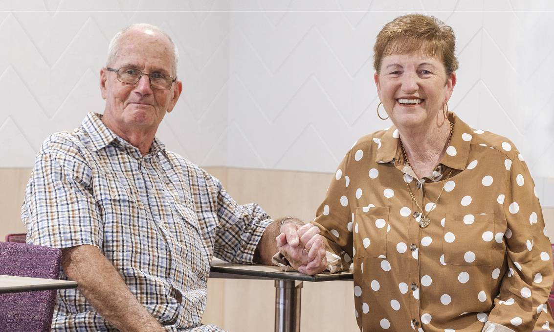 RELAX AND ENJOY: Lorraine and Robert Greig are residents at Thornton Park and are living their best lives with real peace of mind.