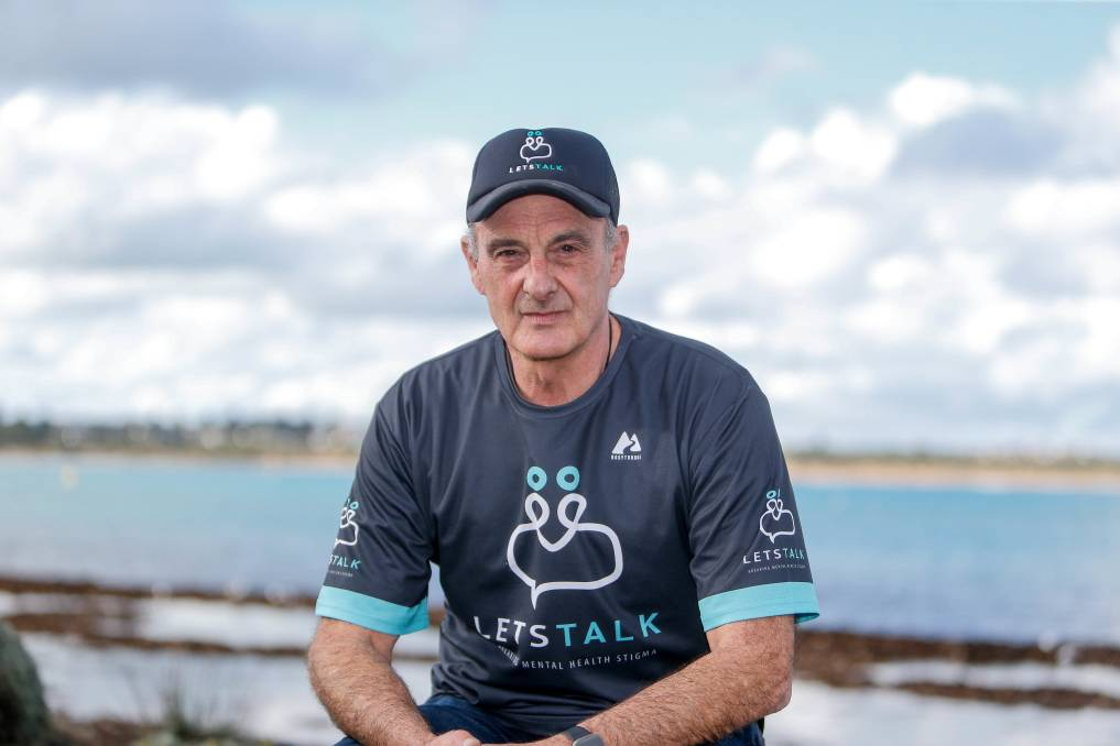 TAKE CARE: Let's Talk co-founder John Parkinson was one of more than 5000 people around the country nominated for an Australian of the Year award. Picture: Anthony Brady