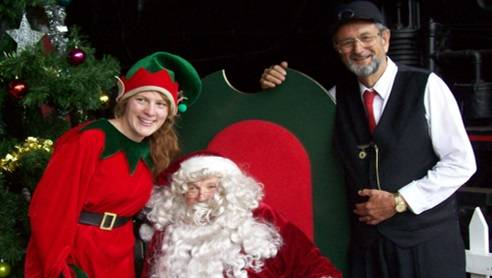 Photo opportunity: Santa will greet children and be on hand with a free gift for kids at the Valley Heights Rail Museum on December 9 and 10.