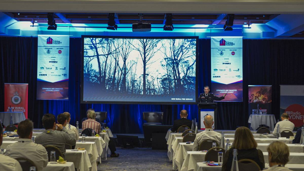 Seven years since first bushfire building conference