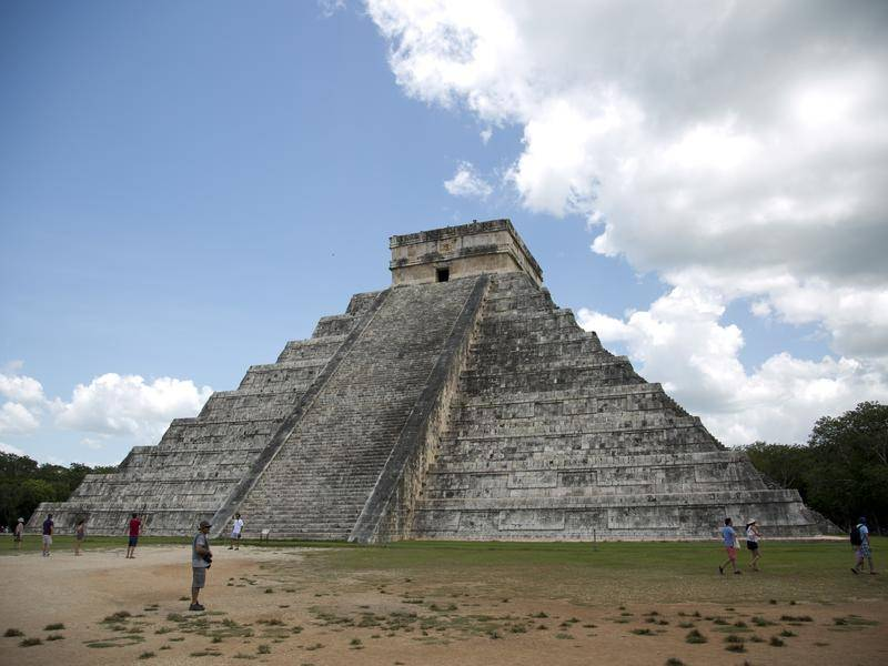 The Mayas formed a sprawling empire across the Yucatan and Central America from 2000 BC to AD 900.