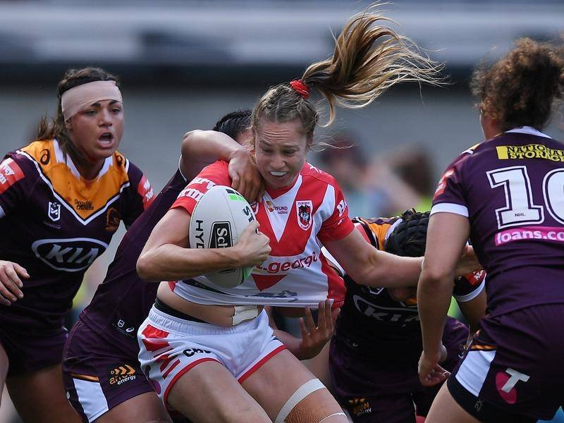 Kezie Apps is among NSW's 20-strong squad named for Women's State of Origin.