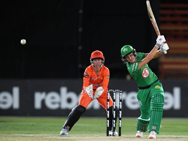 Annabel Sutherland's unbeaten WBBL innings helped the Melbourne Stars beat the Perth Scorchers.