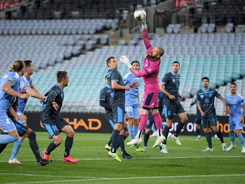 Melbourne City took advantage of Sydney FC's high standards slipping to claim an A-League win.